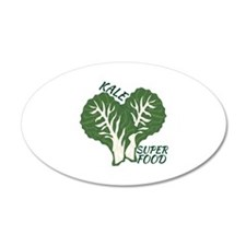 Kale Super Food Wall Decal