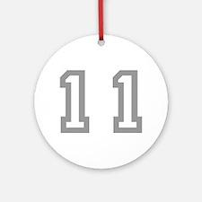 11 Ornament (Round)