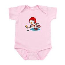 Canada Ice Hockey (2) Infant Bodysuit