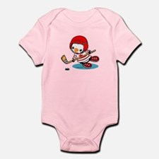 Canada Ice Hockey (2) Infant Bodysuit