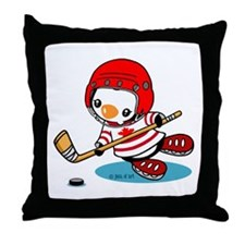Canada Ice Hockey (2) Throw Pillow