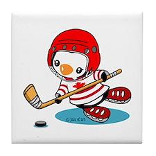 Canada Ice Hockey (2) Tile Coaster