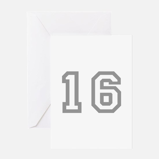 16 Greeting Cards
