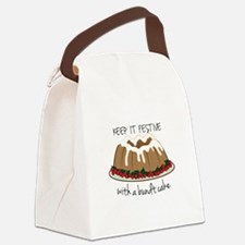 Keep It Festive Canvas Lunch Bag