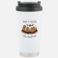Keep It Festive Travel Mug
