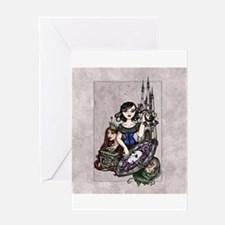Snow White III Greeting Cards