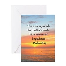 PSALM 118:14 Greeting Card