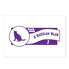 Make Blue Postcards (Package of 8)