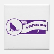 Make Blue Tile Coaster