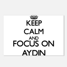 Keep Calm and Focus on Ay Postcards (Package of 8)