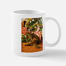 Christmas Kitty Mugs