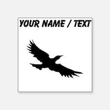 Seagull Silhouette (Custom) Sticker