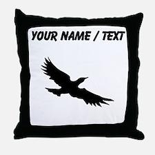 Seagull Silhouette (Custom) Throw Pillow