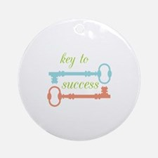 Key To Success Ornament (Round)