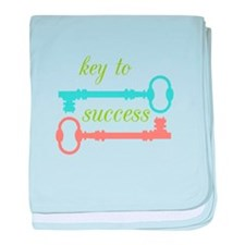 Key To Success baby blanket