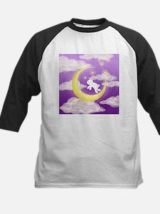 Moon Bunny Purple Baseball Jersey