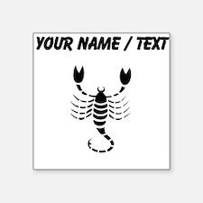 Scorpion Silhouette (Custom) Sticker