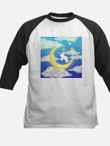 Moon Bunny Blue Baseball Jersey