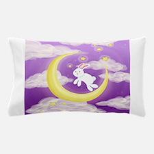 Moon Bunny Purple Pillow Case