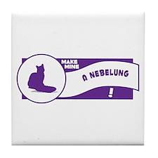 Make Nebelung Tile Coaster
