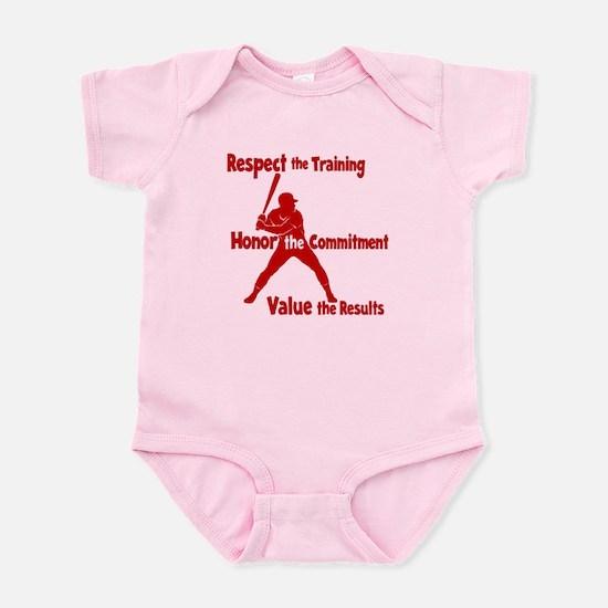 VALUE BASEBALL Infant Bodysuit