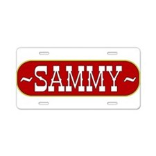 sammy-country.png Aluminum License Plate