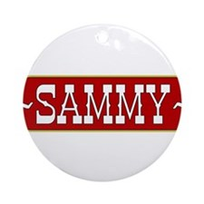sammy-country.png Ornament (Round)