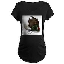 Army Medic Maternity T-Shirt