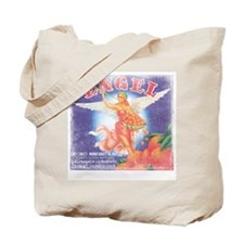 labelart-orangeangel01.png Tote Bag