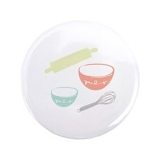 "Baking Utensils 3.5"" Button (100 pack)"