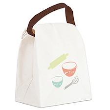 Baking Utensils Canvas Lunch Bag