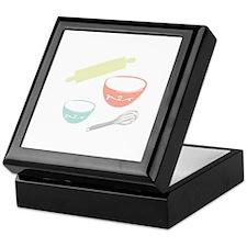 Baking Utensils Keepsake Box