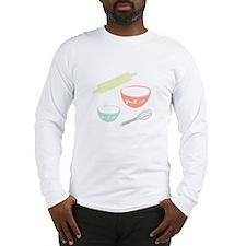 Baking Utensils Long Sleeve T-Shirt