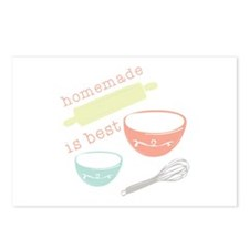 Homemade Is Best Postcards (Package of 8)