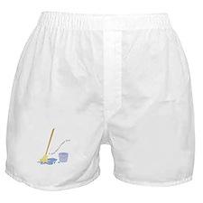 A Clean Floor Boxer Shorts
