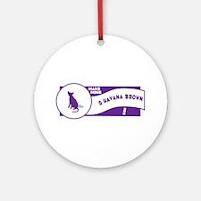 Make Havana Ornament (Round)