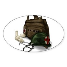 Army Medic Decal