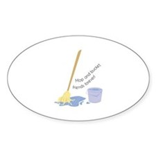 Mop And Bucket Decal