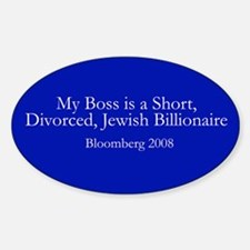 Bloomberg for President Decal