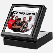 The Usual Suspects Keepsake Box