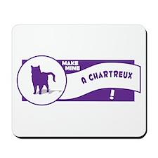 Make Chartreux Mousepad
