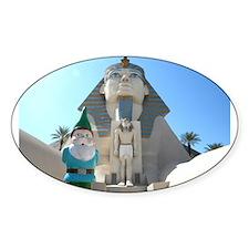 Sphinx Gnome Decal