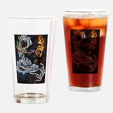 Spirit Dogs Drinking Glass