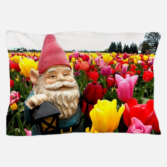 Gnome Petals Pillow Case