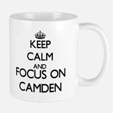 Keep Calm and Focus on Camden Mugs