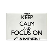 Keep Calm and Focus on Camden Magnets