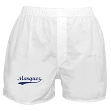 Marquez - vintage (blue) Boxer Shorts
