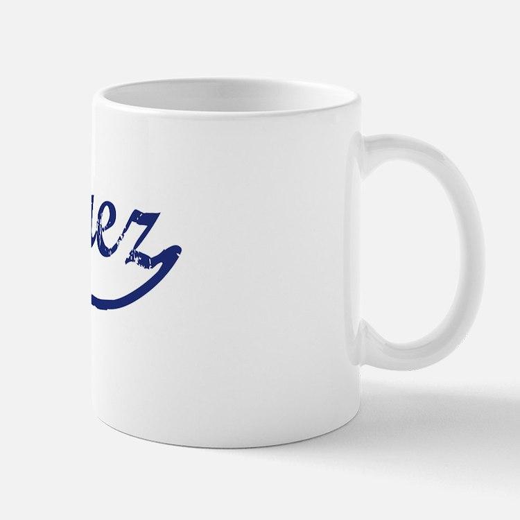 Marquez - vintage (blue) Mug