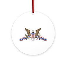 ornR-patriotic19.png Ornament (Round)
