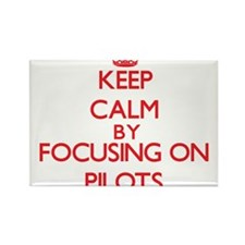 Keep Calm by focusing on Pilots Magnets